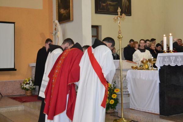 Proslava Svete Kate patrona Samostana Kreševo