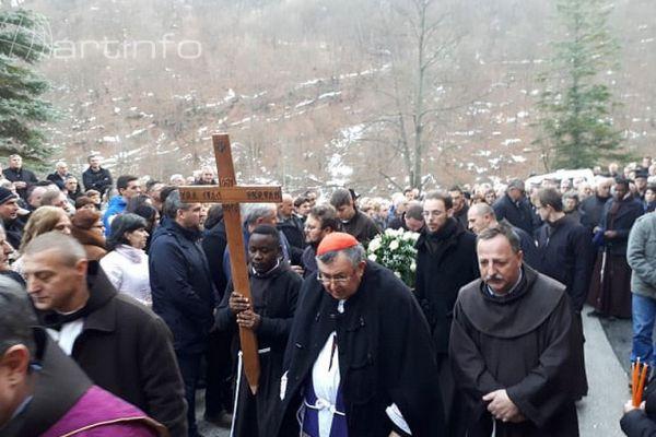 Lepenička dolina oprostila se od velikog čovjeka i svećenika