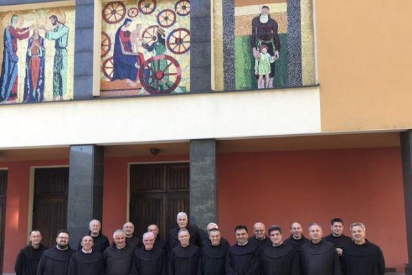 Posjet generala reda OFM Fra Michaela Perrya samostanu u Kreševu